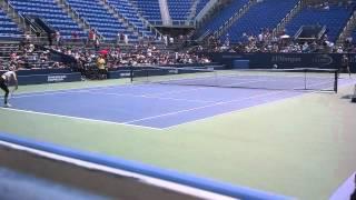 Maria Sharapova US Open 2012 Practice
