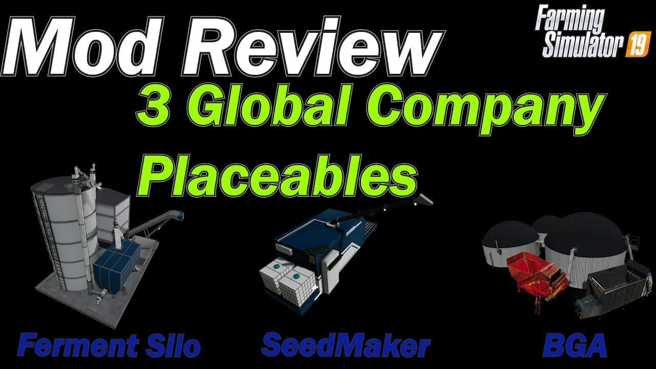 Mod Review - Global Company Seed Maker, Fermentation Silo & BGA with Beet  Beater