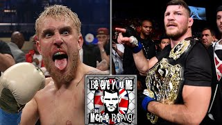 """Michael Bisping on boxing Jake Paul - """"You Won't Get Out Of 1 Round """""""