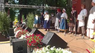 """00008 Folkloras diena """"Novadu sasaukšanās"""" uz Vērmanes dārza lielās skatuves 7.07.2018"""