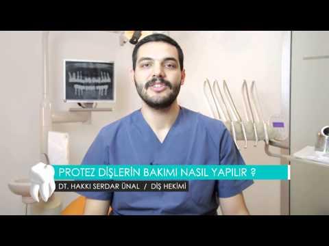 Protez dişlerin bakımı nasıl yapılır ? - Dt. Hakkı Serdar Ünal