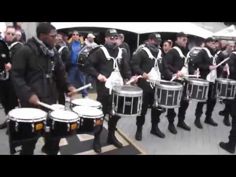 Army vs. Air Force Drum Line Battle (Part 2)