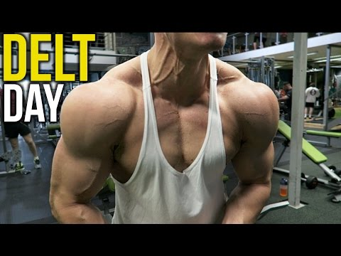 BEST SHOULDER WORKOUT for MASS & SHAPE!! (Warning: This will hurt)