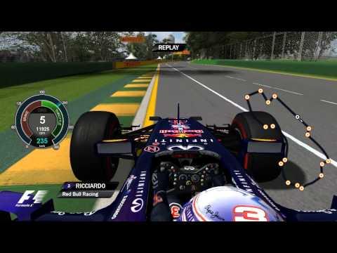 F1 2014 - Daniel Ricciardo OnBoard   Melbourne   2014 FORMULA 1 ROLEX AUSTRALIAN GRAND PRIX
