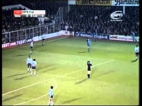 Southampton-Sporting UEFA 81/82