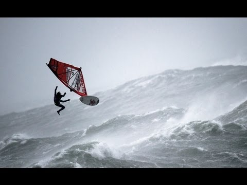 Windsurfing in Ireland - Mission 1 - Red Bull Storm Chase