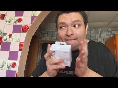 Распаковка наушников Samsung Galaxy Buds+ белые