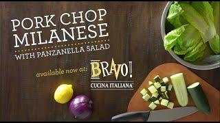 Bravo Cucina Italiana - Pork Milanese With Panzanella Salad