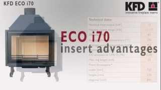 Kfd Eco I70 Fireplace Insert - Www.kfdesign.eu