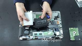hp Elitebook 840 G4 Upgrde 8GB RAM HDD to SSD
