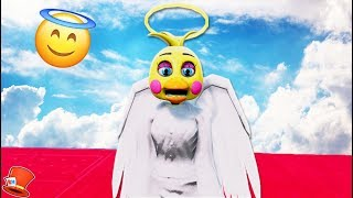 NEW ANGEL TOY CHICA ANIMATRONIC! (GTA 5 Mods For Kids FNAF RedHatter)