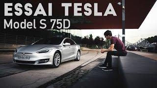 Faire un Lyon - Paris en Tesla Model S 100% électrique ?