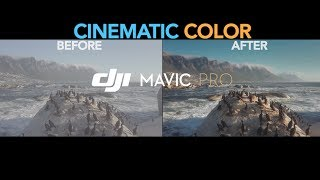 Dji Mavic Pro Professional Polished Cinematic Footage Dlog Test. Before And After
