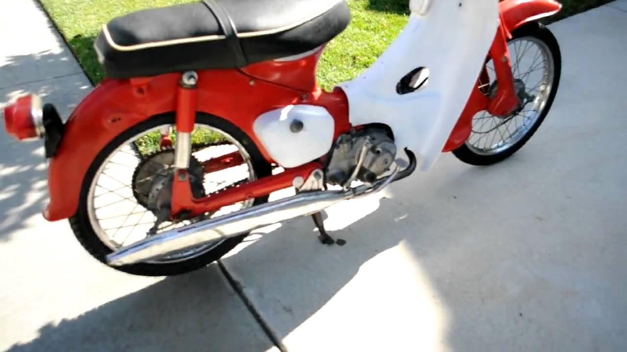 1965 HONDA CUB FOR SALE[sold] - YouTube