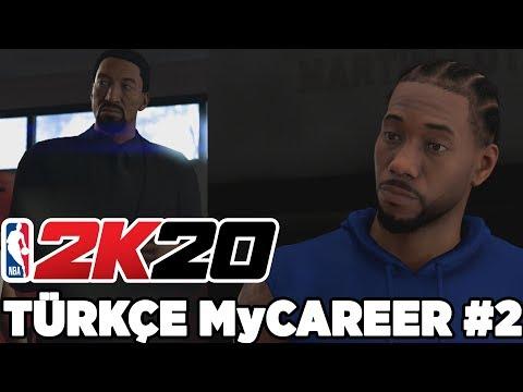 Türkçe NBA 2K20 MyCAREER #2 | KAWHI LEONARD'LA 1v1 ATTIK! YETENEK AVCILARI B