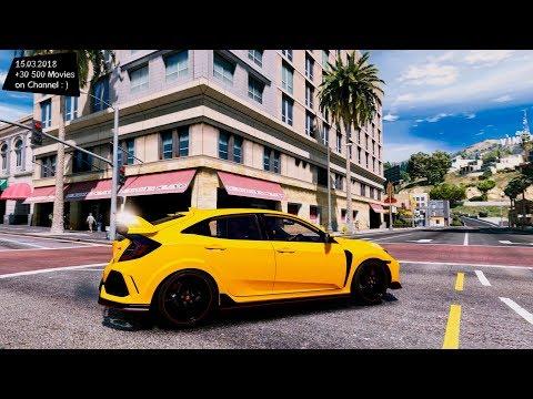 2018 Honda Civic Type-R(FK8) Grand Theft Auto V MGVA Modification