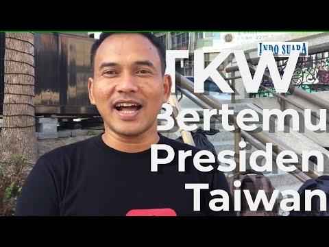 Bincang-bincang Santai dengan TKW yang Bertemu Presiden Taiwan