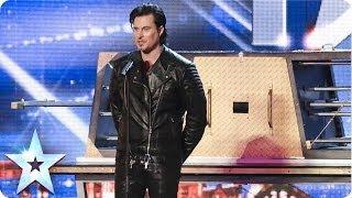 Illusionist Christian Farla wows the crowd | Britain's Got Talent 2014