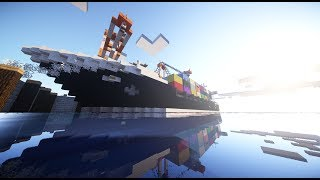 Minecraft Borealis (Container ship)