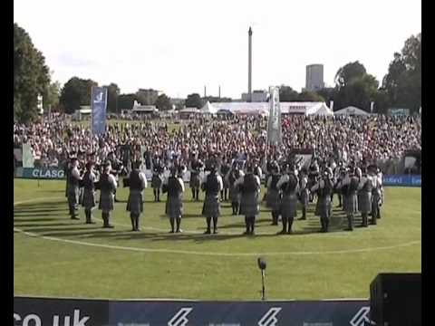 World Pipe Band Championships 2012 - Scottish Power Pipe Band Medley