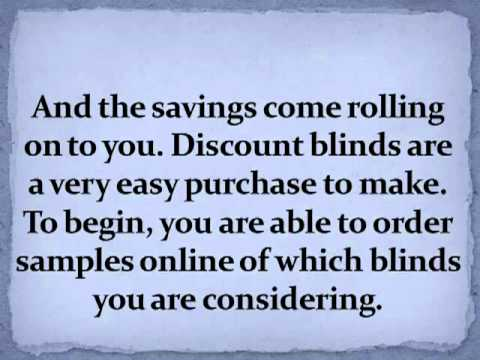 Easy To Order Discount Blinds