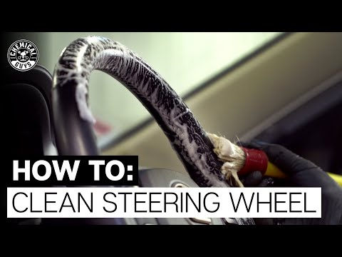 How To Clean Stained Leather Steering Wheel! - Chemical Guys