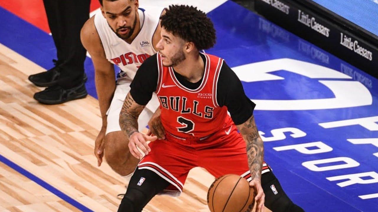 Lonzo Ball, DeRozan Bulls Debut vs Pistons! 2021 NBA Season