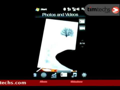 HTC Touch HD Video Review