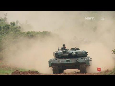 GARUDA - Latihan Puncak Antar Kecabangan TNI AD 2017