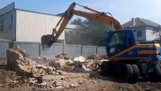 видео Демонтаж и снос домов с вывозом мусора