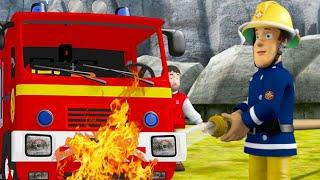 Пожарный Сэм на русском 🔥Пожарная машина горит 🚒 мультфильм для детей