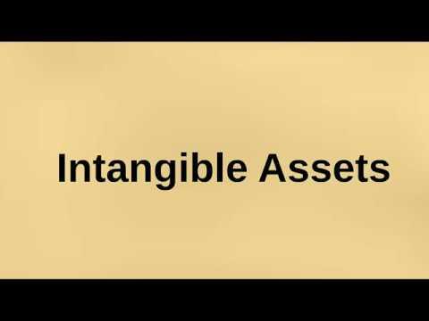 6/1 Intangible assets الأصول الغير ملموسه