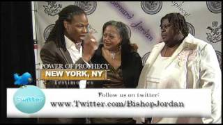 POWER OF PROPHECY TESTIMONIES- NEW YORK- MASTER PROPHET BISHOP BERNARD JORDAN
