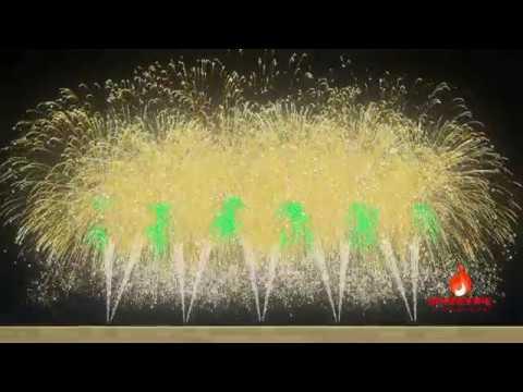 Philippines New Year's Eve 2019 Fireworks Display | FWsim