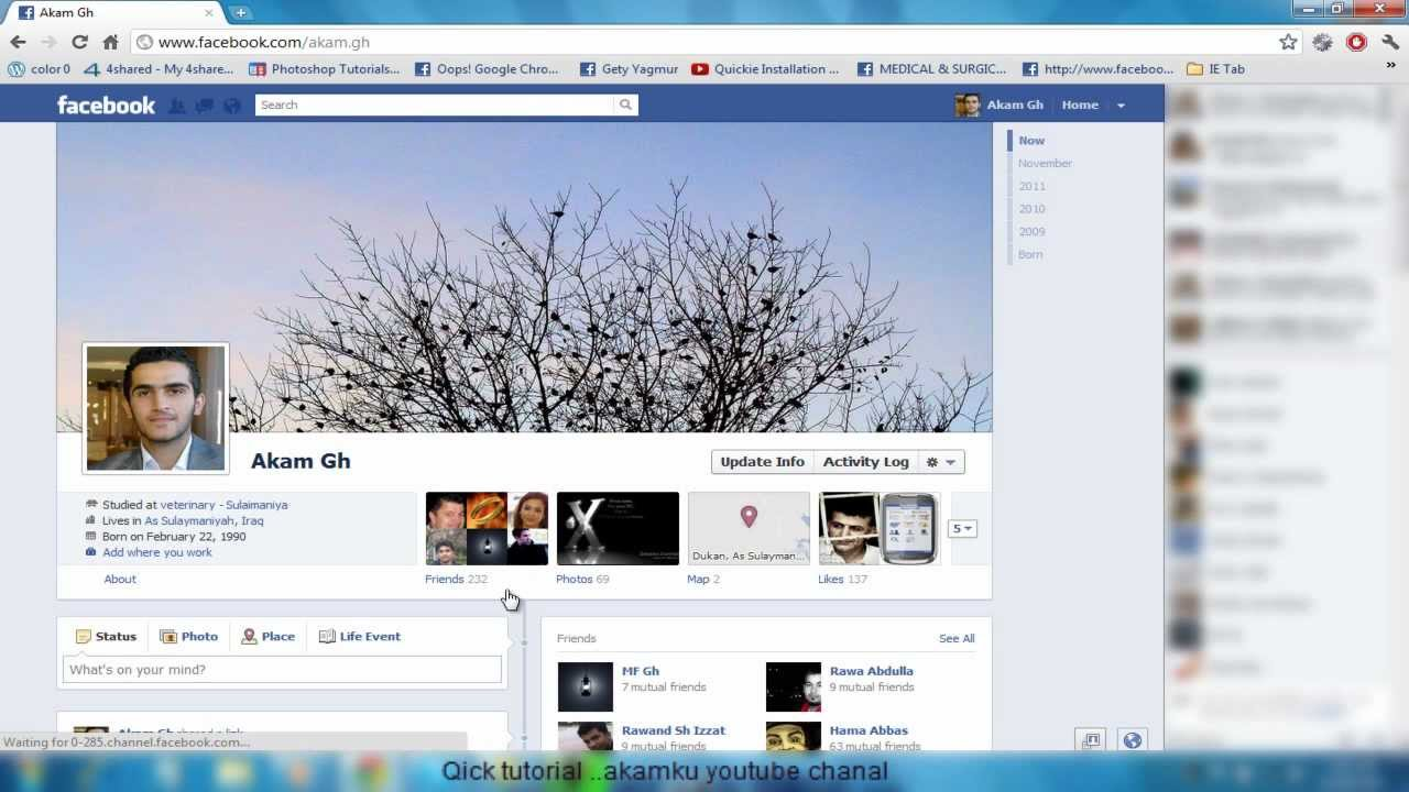 how to hide add friend on facebook timeline