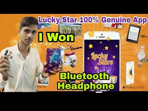 Lucky Star app Free| won 100% Proof Unboxing of  Bluetooth Headphone | ITG