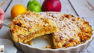 Песочный Яблочный Пирог Apple Pie recipe