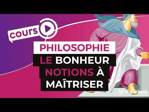 Le Bonheur : Notions à Maîtriser - Philosophie - DigiSchool