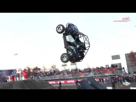 EICMA MotoLive - Buggy Flip - First Attempt Backflip
