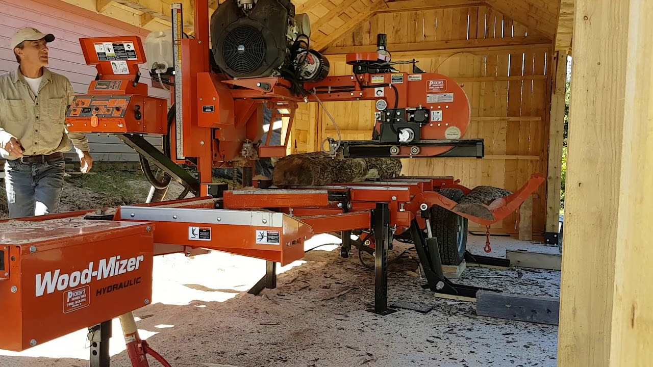 LT28 Portable Sawmill in Action | Wood-Mizer by Wood-Mizer