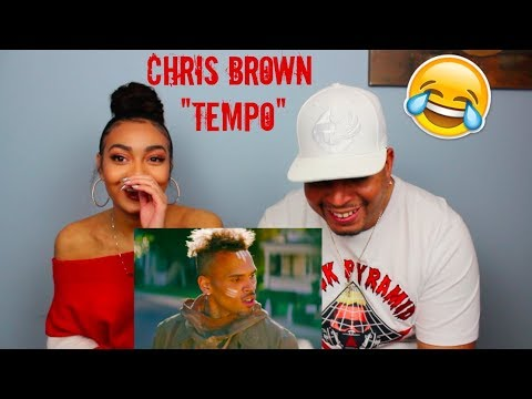 MY DAD REACTS TO CHRIS BROWN - TEMPO   OFFICIAL MUSIC VIDEO