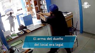 Ladrón intenta robar local y el dueño le dispara por la espalda en Brasil