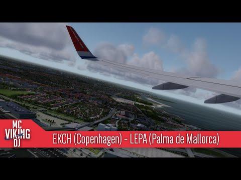 [P3D] NAX64N | EKCH (Copenhagen) - LEPA (Palma de Mallorca) | VATSIM | PMDG 737NGX