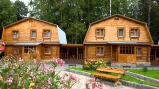 Строительство дома из бруса(Строительная компания Модерн - К занимается строительством домов из бруса в Красноярске., 2016-03-23T14:33:15.000Z)