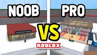 ROBLOX NOOB vs PRO in RESTAURANT TYCOON