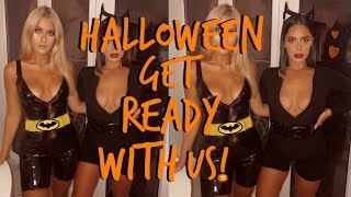 GET READY WITH US! | HALLOWEEN EDITION | Sophia and Cinzia