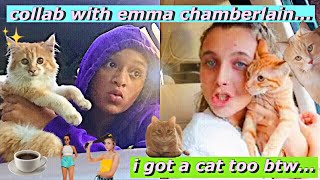 I DID SOMETHING CRAZY (i adopted a cat too...) *collab with emma chamberlain* Video