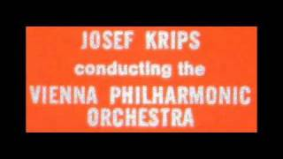 Watch music video: Josef Krips - The Blue Danube Waltz