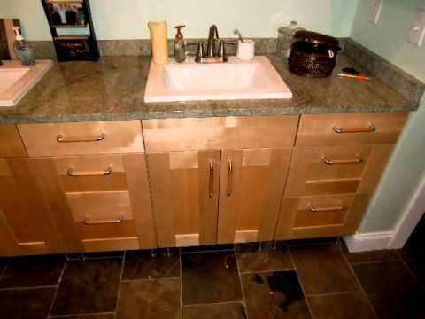 Ikea kitchen bath remodel with ikea cabinets youtube for Kitchen and bathroom cabinets