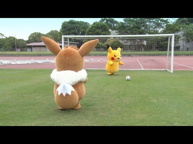 【公式】イーブイ vs ピカチュウ勝つのはどっち? 種目:PK